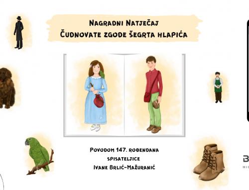 """Nagradni natječaj """"Čudnovate zgode šegrta Hlapića"""""""